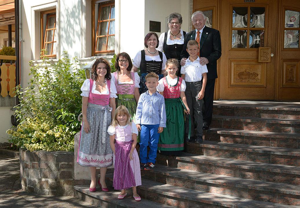 Familie Knöpfle in Breitenfeld